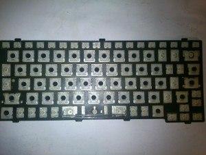 Чистая клавиатура (почистить)