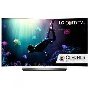 Изогнутый OLED-телевизор LG C6 4K